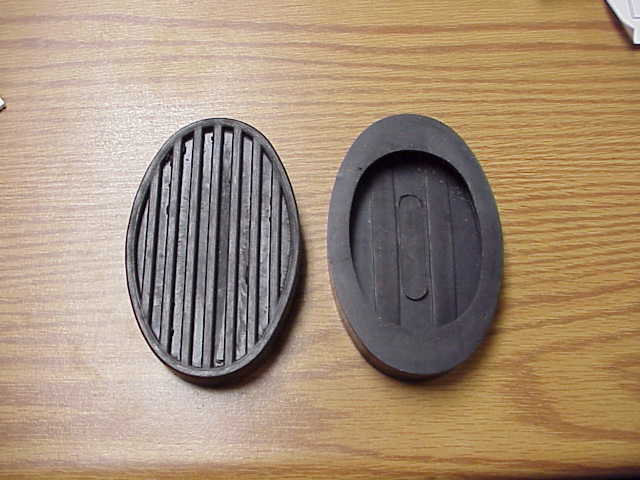 1948-56 Dodge Truck Clutch and Brake pedal pad