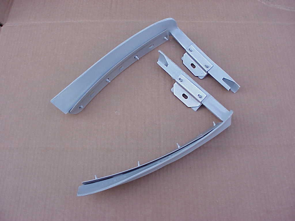 NEW 1973-74 Charger Front Bumper Filler Pair
