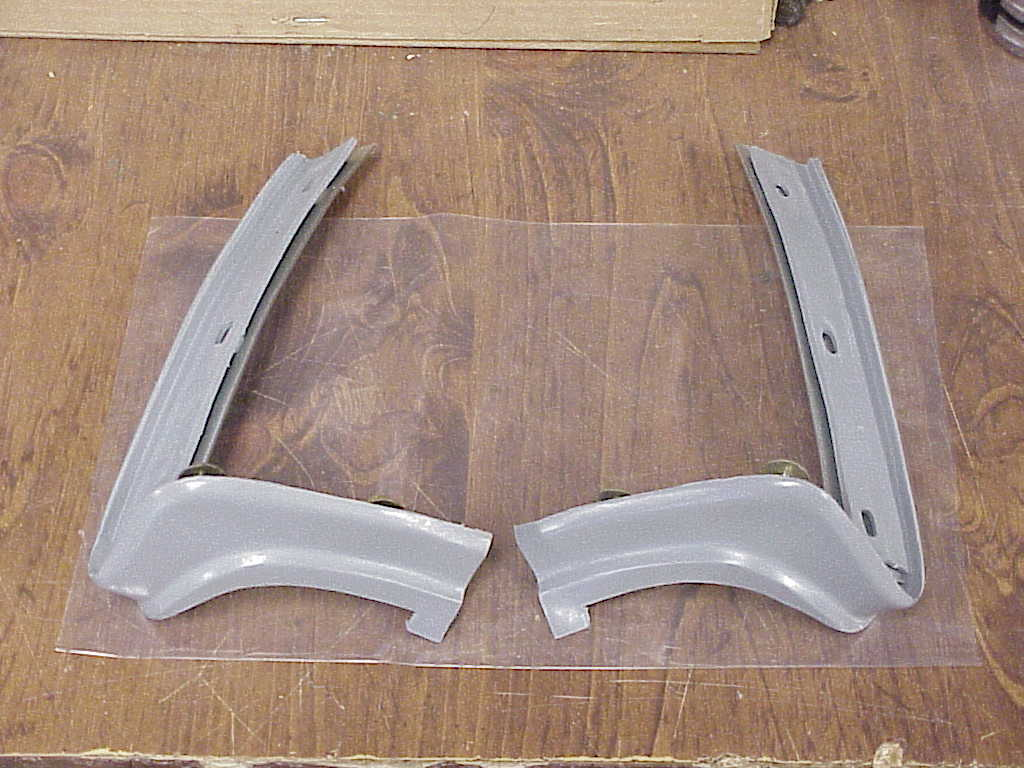 1973 1974 Satellite Road Runner Rear Bumper Filler Ends