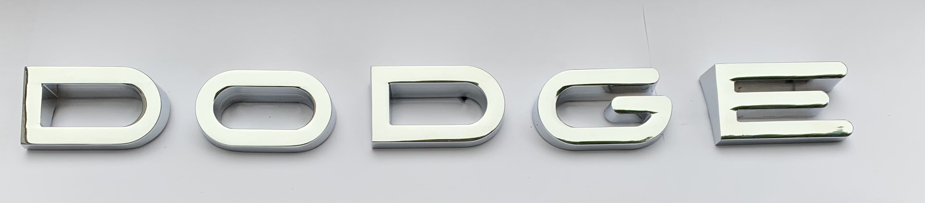 1961-1968 DODGE TRUCK HOOD LETTERS